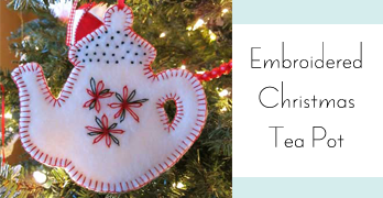 On The 9th Day of Christmas | Fleecy Tea Time Ornaments
