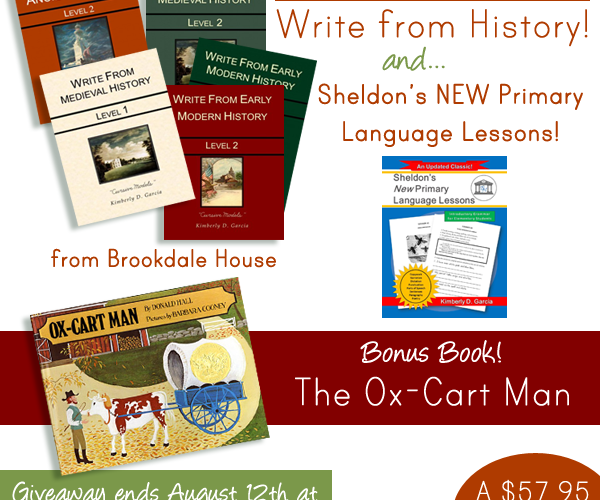 Free Book Friday | Write from History & The Oxcart Man