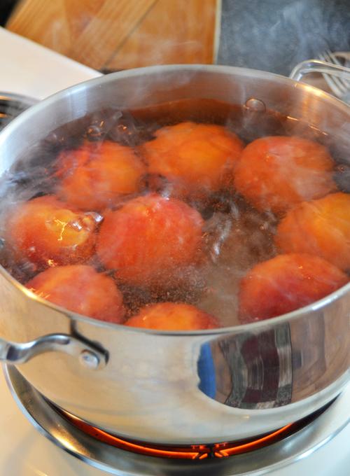Peaches for freezer peach pie filling!