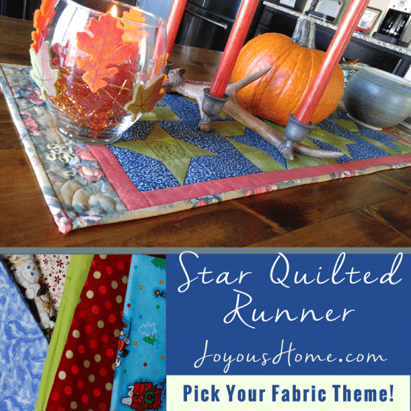 Easy Star Runner Quilt