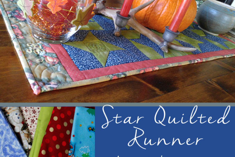 Star Quilted Runner – Pick a Seasonal Theme!