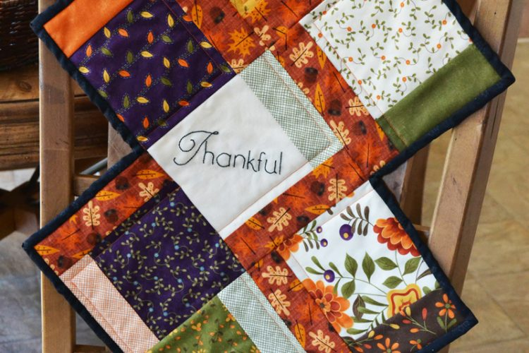 Fall Charm Quilted Table Runner | A Free Pattern
