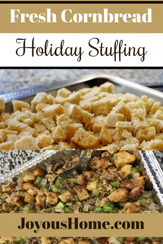 Fresh Cornbread Stuffing