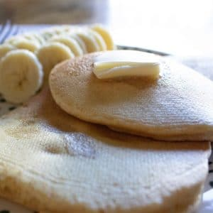 Whole Wheat Buttery Pancakes