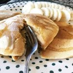 Buttery Whole Wheat Pancakes with Fruit