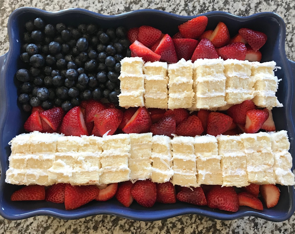Best Fourth of July Cake
