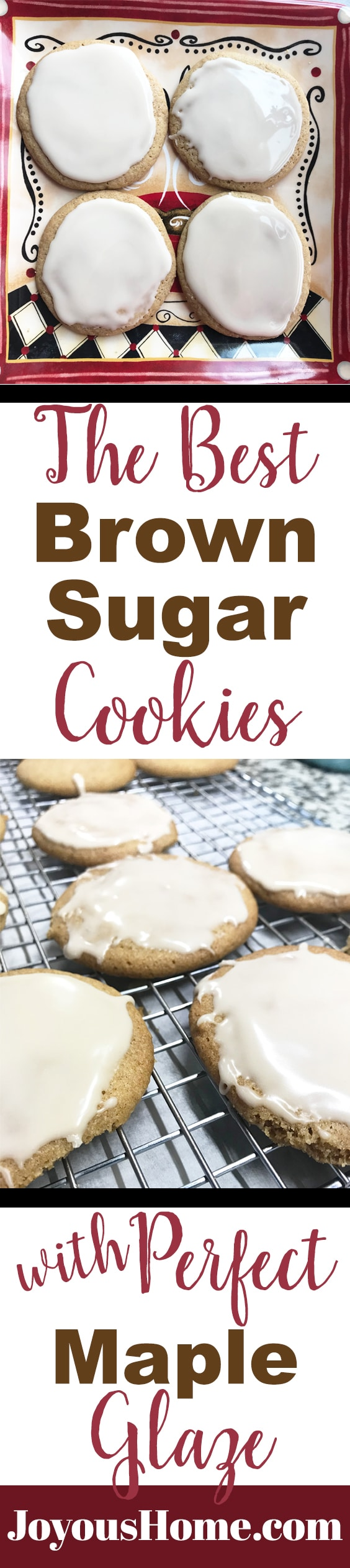 Best Brown Sugar Cookies Perfect Maple Glaze