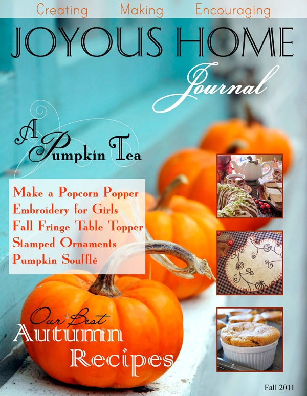 Fall Joyous Home Journal