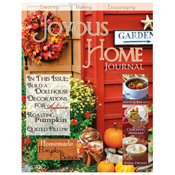 Fall Joyous Home Journal - Digital Homemaking Magazine