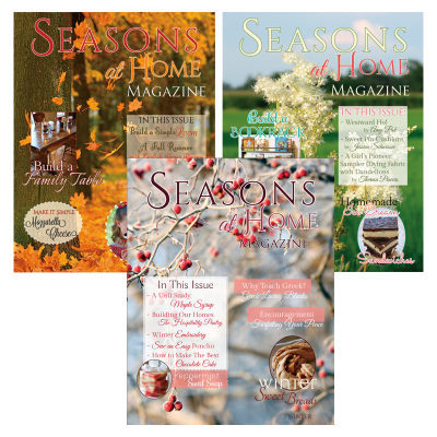 Seasons at Home Magazine 3