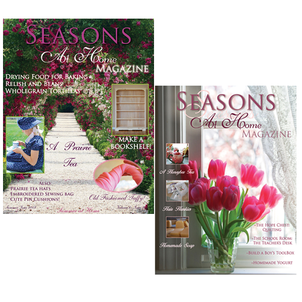 Seasons at Home Magazine Spring Summer 2