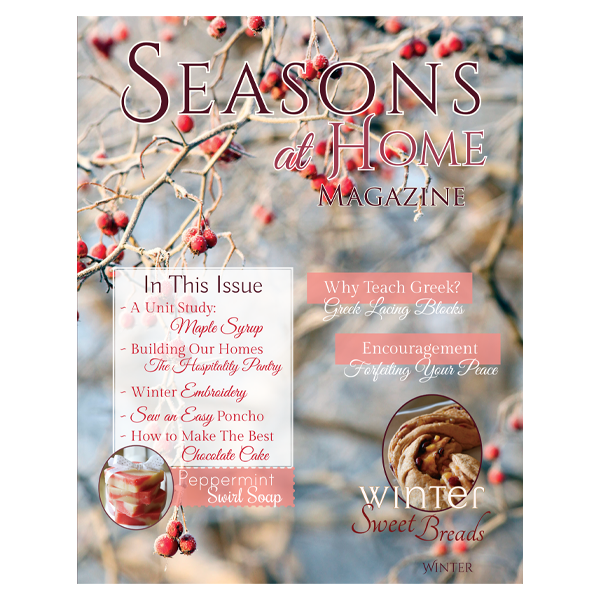 Seasons at Home Magazine Winter 3