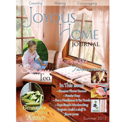 Summer Joyous Home Journal