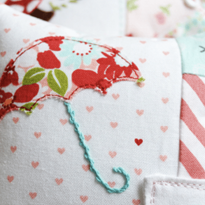 Easy Applique Tutorial Using Your Sewing Machine