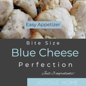 Easy Blue Cheese Bite Appetizer