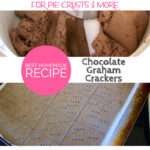 Best Homemade Chocolate Graham Cracker Recipe