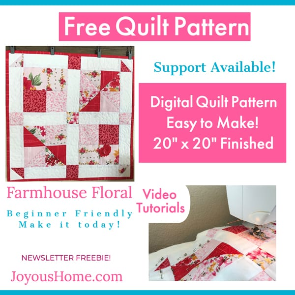 Free Digital Quilt Pattern
