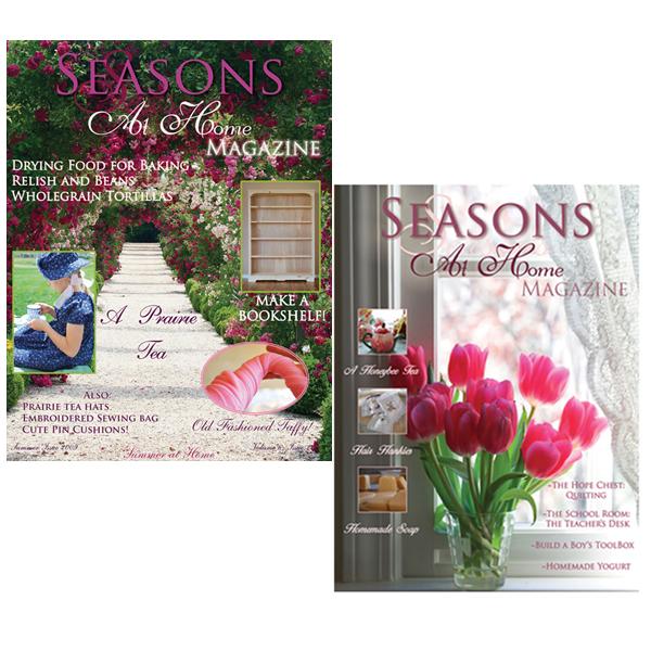 Seasons at Home Magazine Summer and Spring Bundle