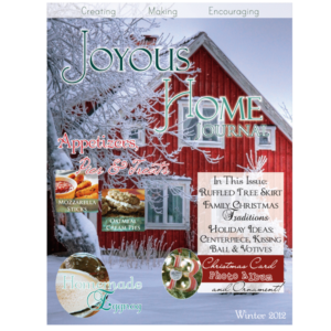 Winter Joyous Home Journal